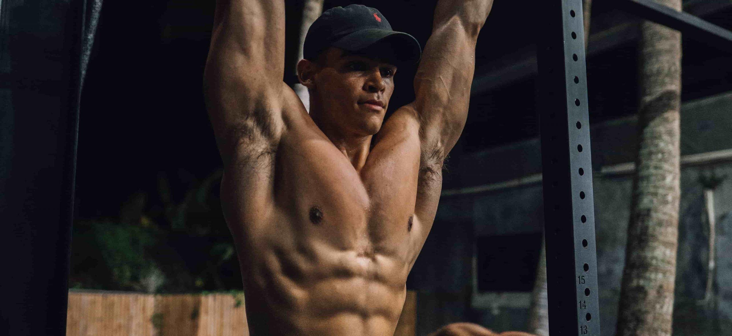 Elliot Burton ab workout